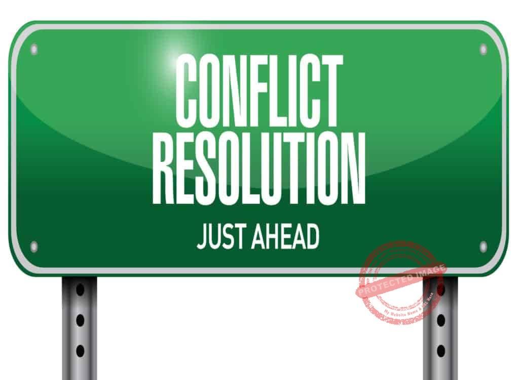 Best way to handle conflict at work