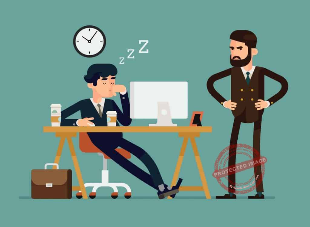 coaching employee with negative attitude
