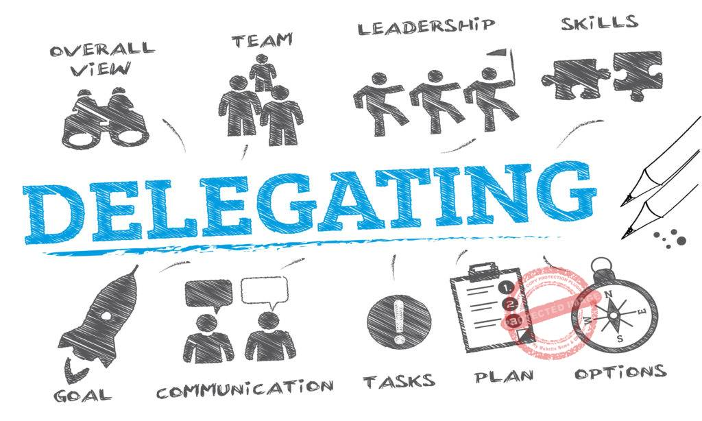 How to delegate work