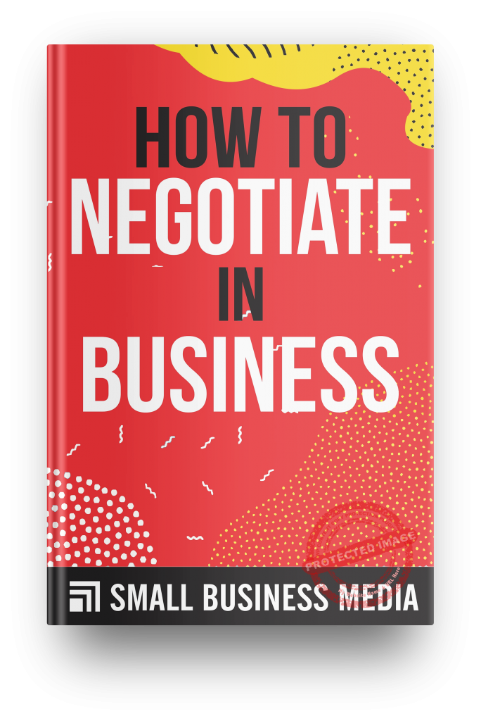 how to negotiate in business
