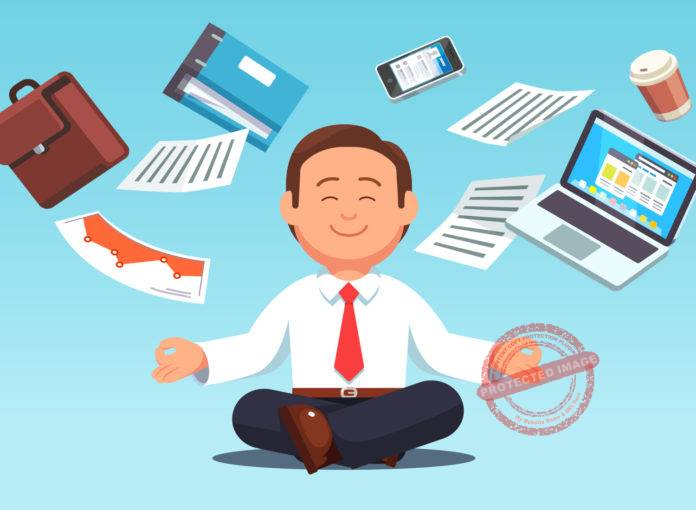 Mindfulness exercises at work