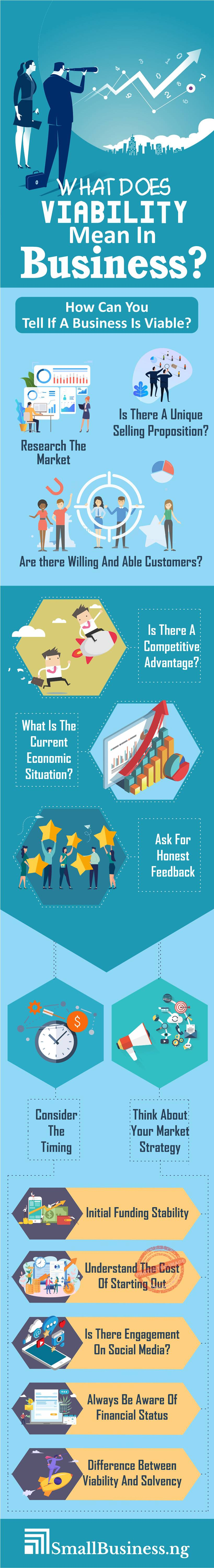 What Does Viability Mean In Business infographic