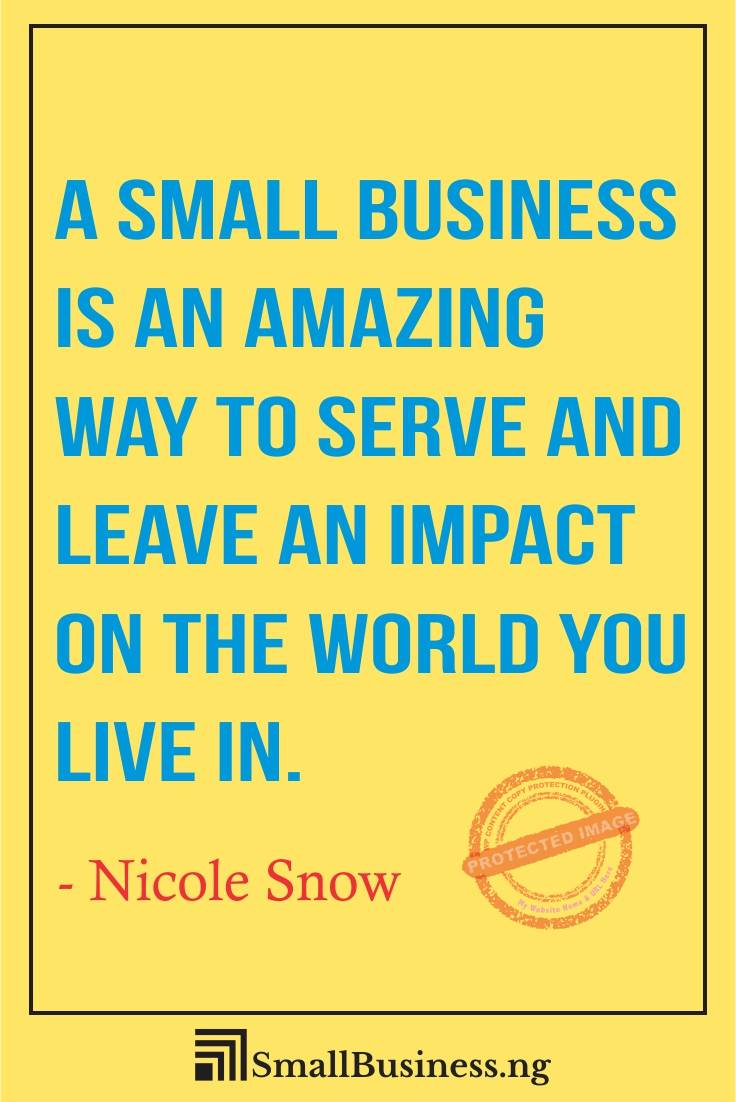 Famous Small Business Quotes