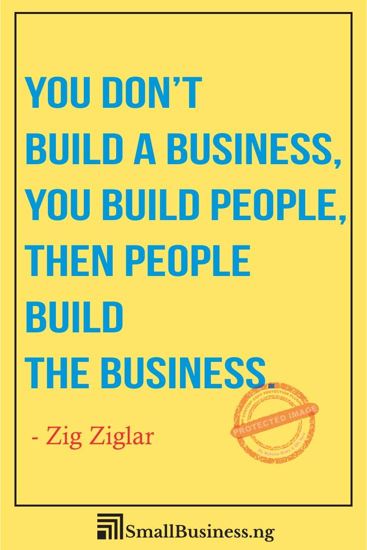 Building Business Relationships Quotes