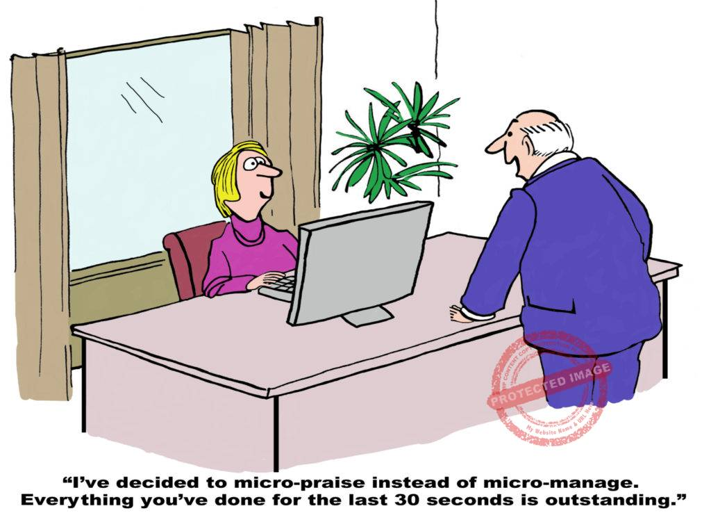 Signs of a Micromanager