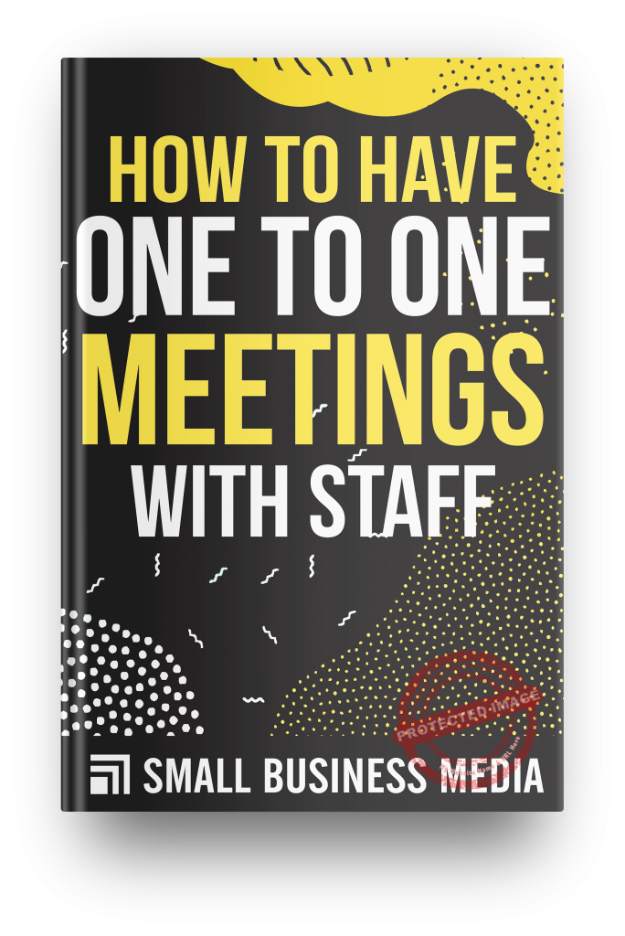 how to have one to one meetings with staff