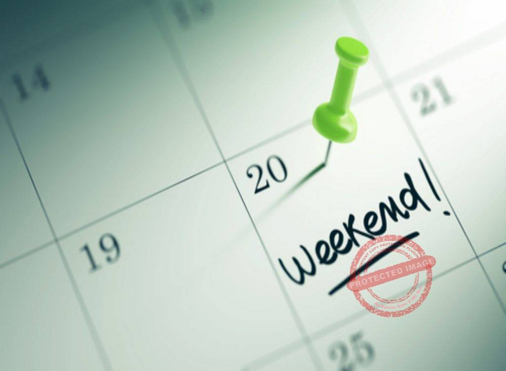 Apps which help you plan your weekend step by step