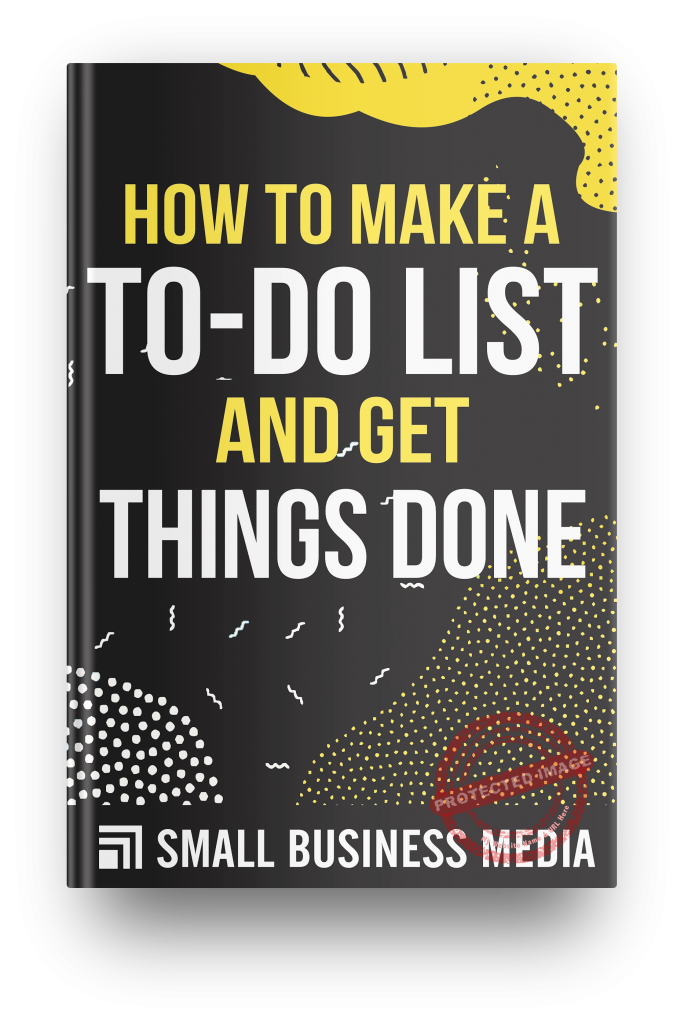 how to make a to-do list and get things done