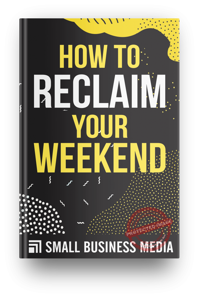 how to reclaim your weekend