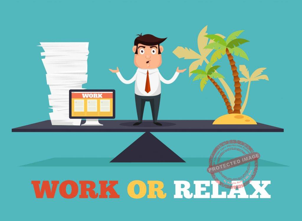 Work and vacation