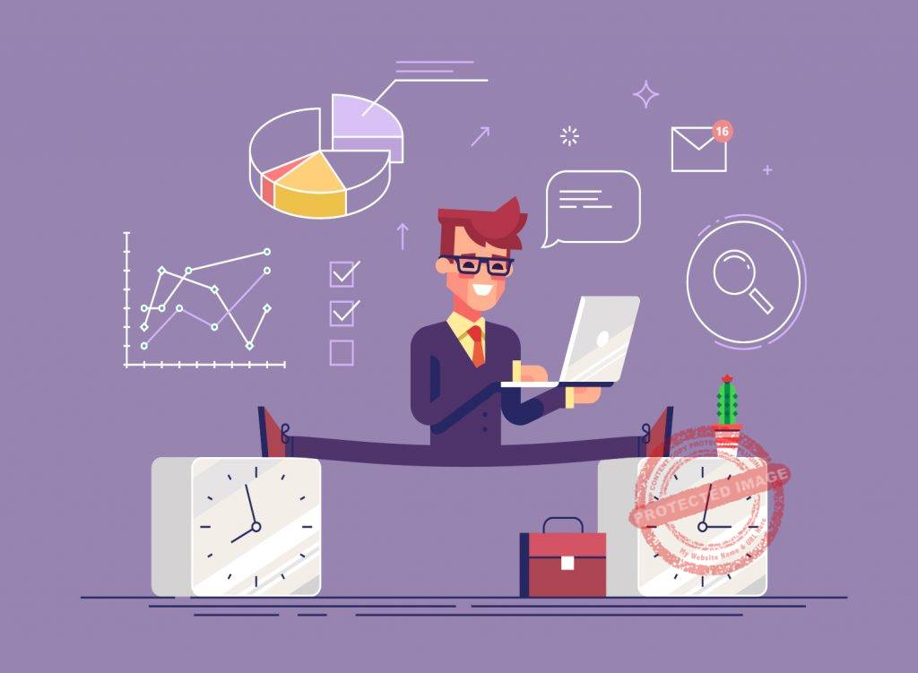 What is considered employee productive time