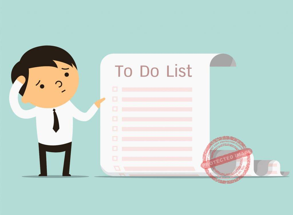 How to make productive to do list