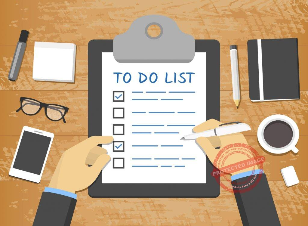Ways to manage your to do list