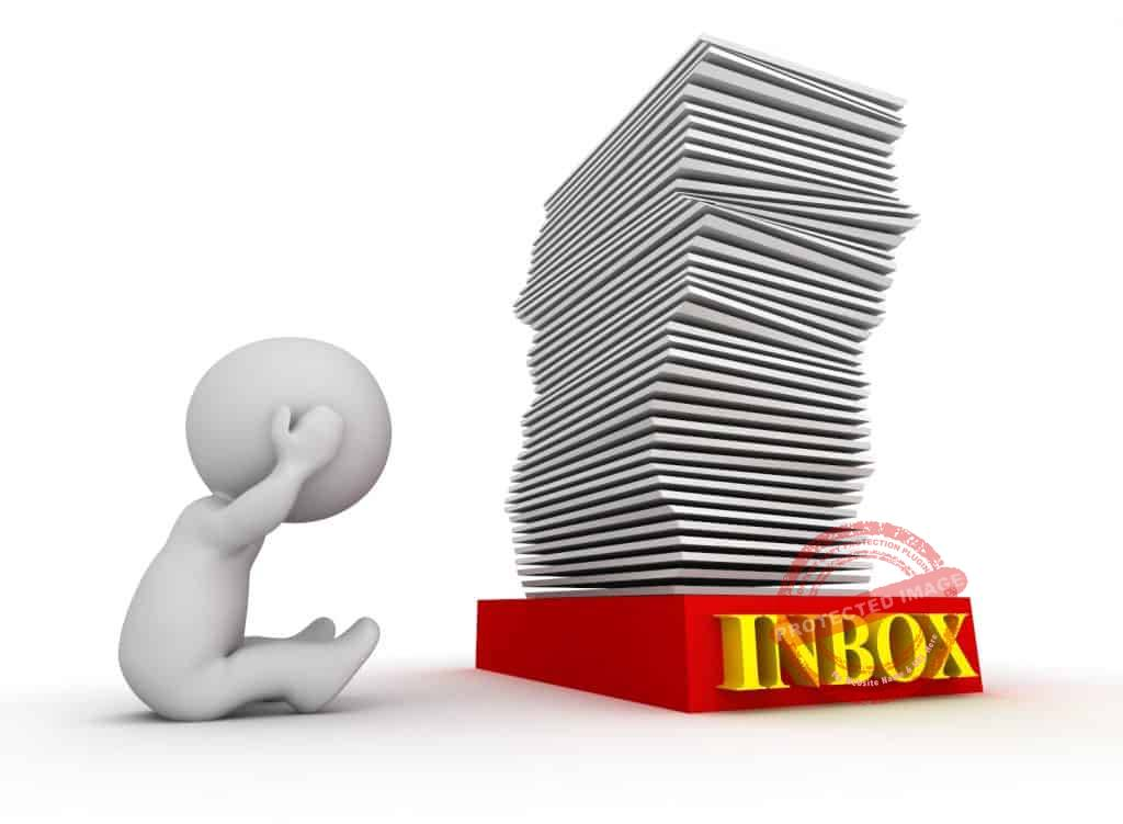 how to manage email overload