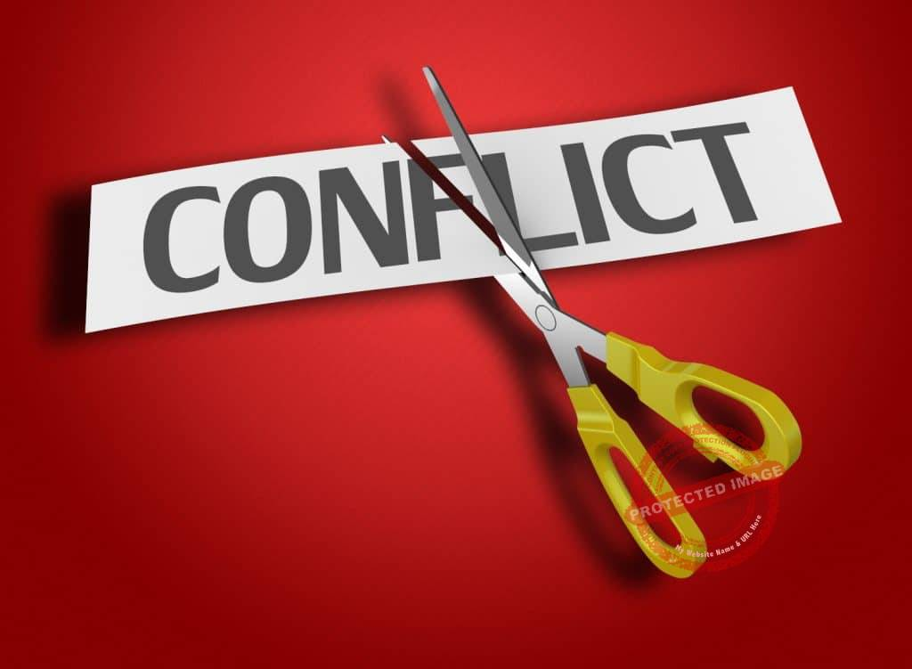 how can a business resolve conflicts?