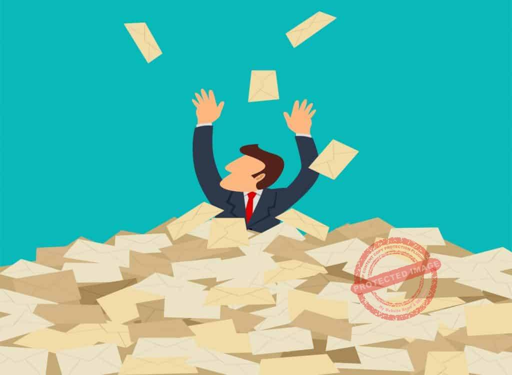 how to manage email overload 2
