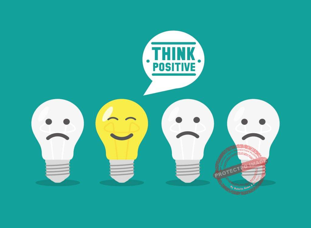how to think positive always