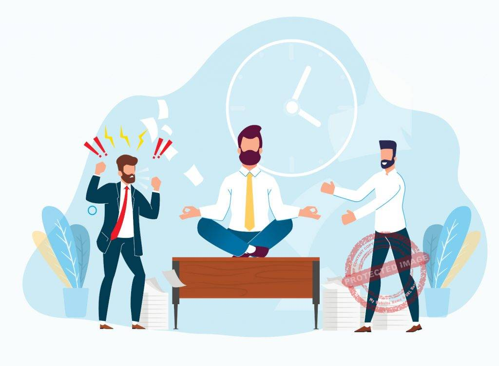 how to deal with negative people at work