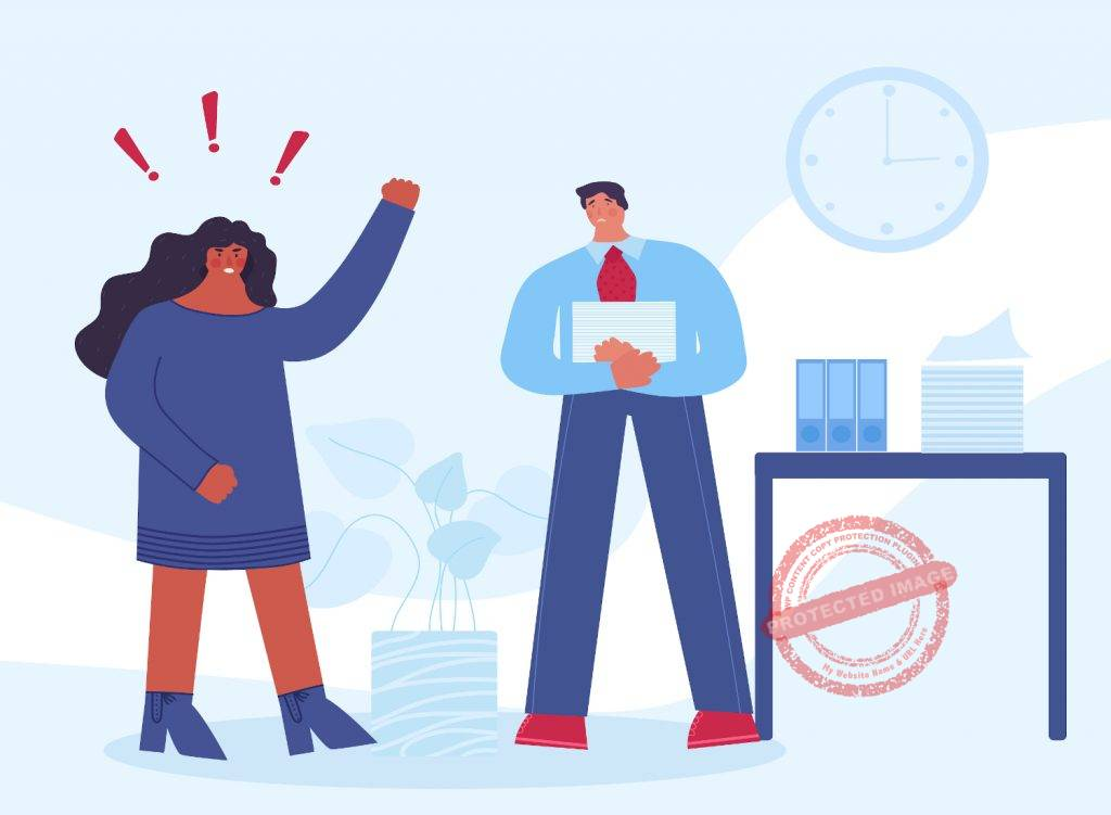 how do you handle criticism at work