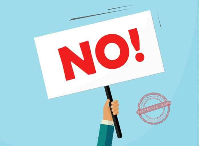 How To Say No To A Potential Client