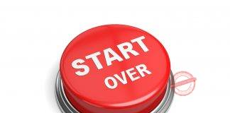How To Start Over