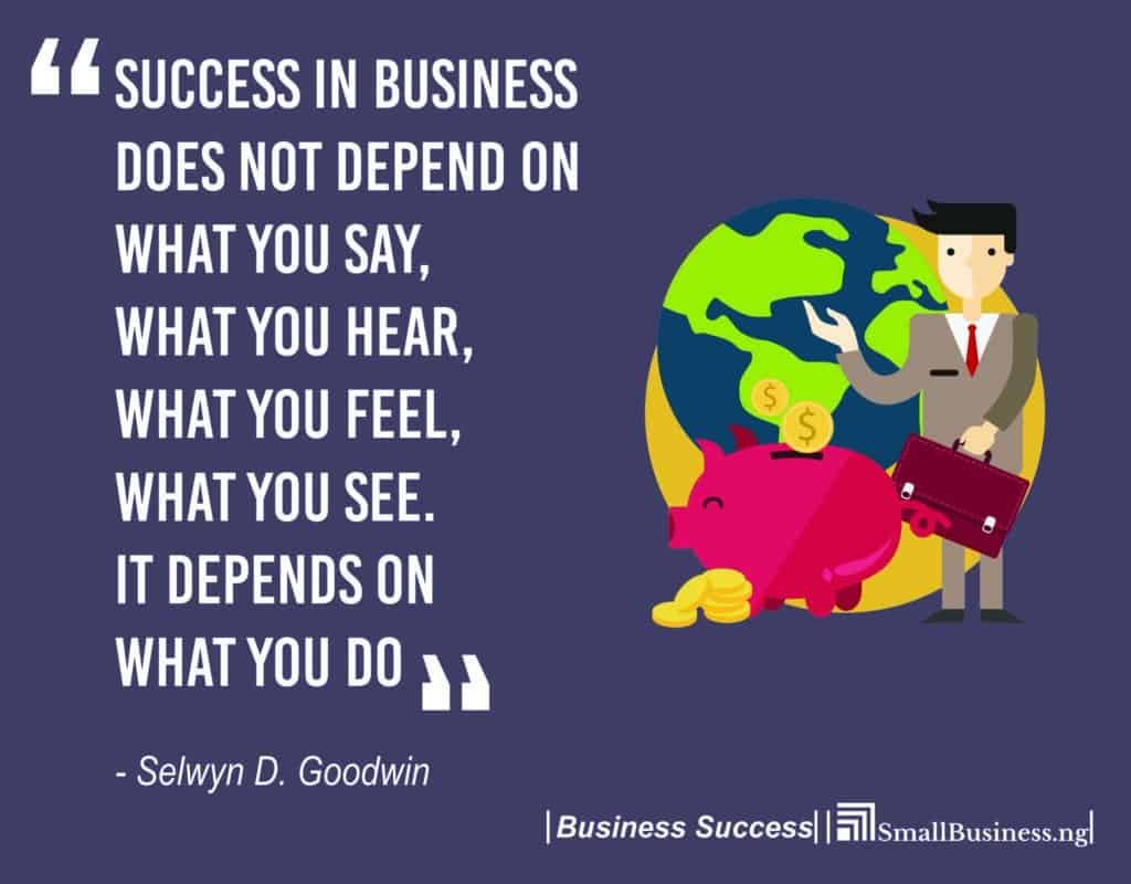 Business Success Quotes 106