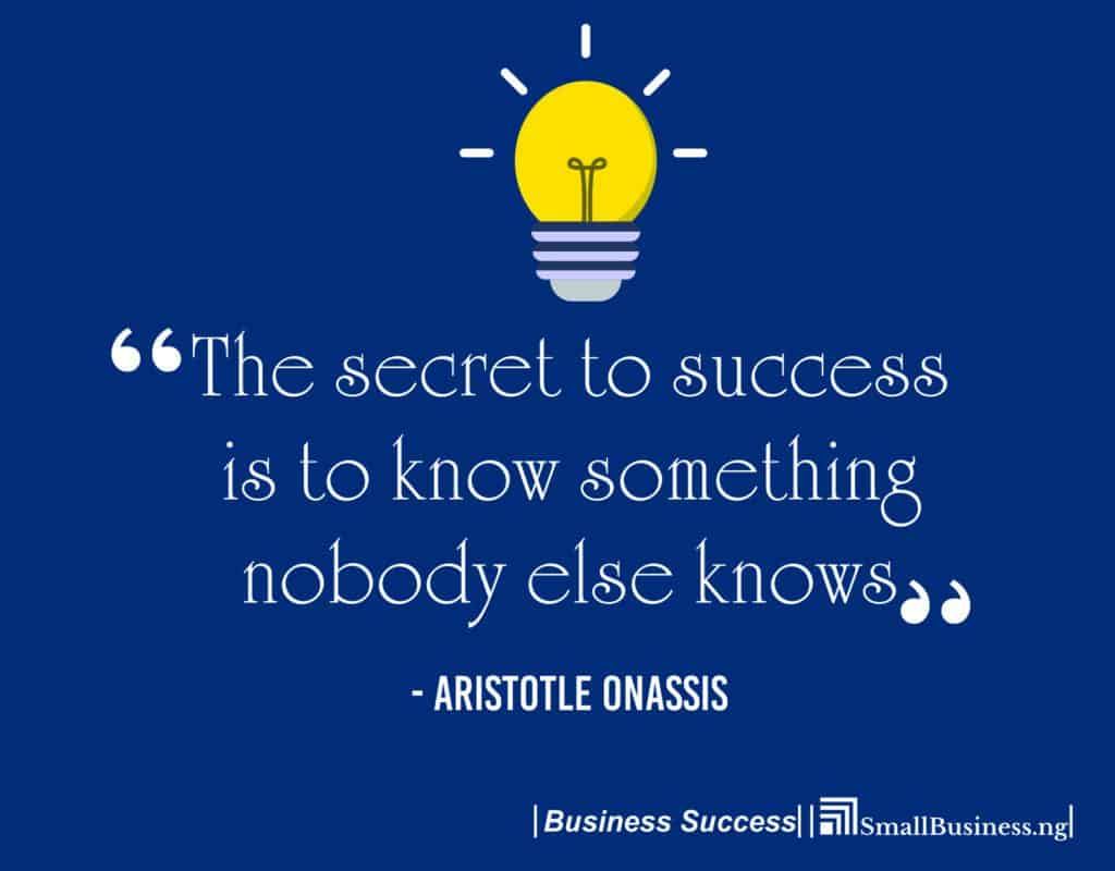 Inspirational Quotes For Business Success