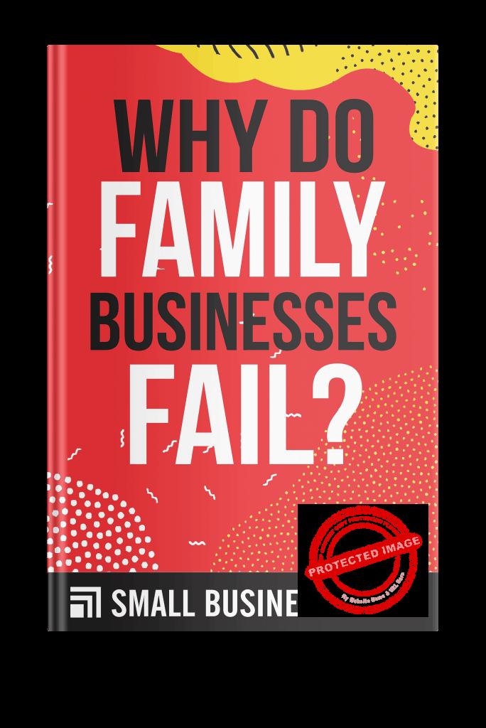 Why do family businesses fail