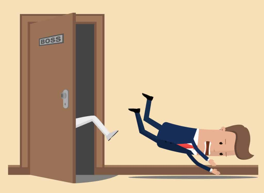 Steps to terminate an employee
