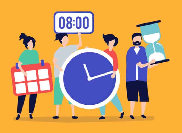 Working from home time management tips