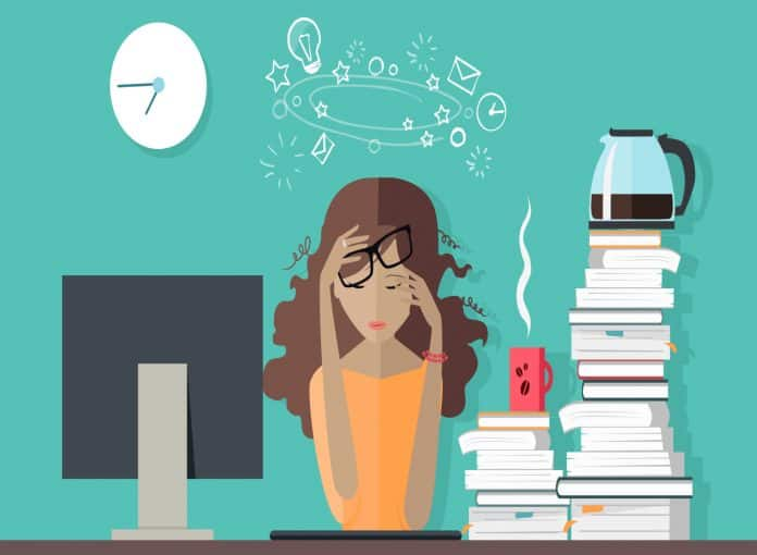Signs you are pushing yourself too hard_ workplace stress
