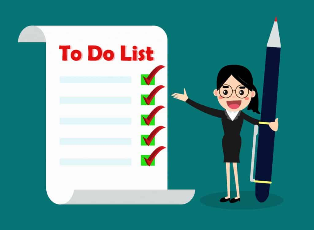 How to make a productive to do list