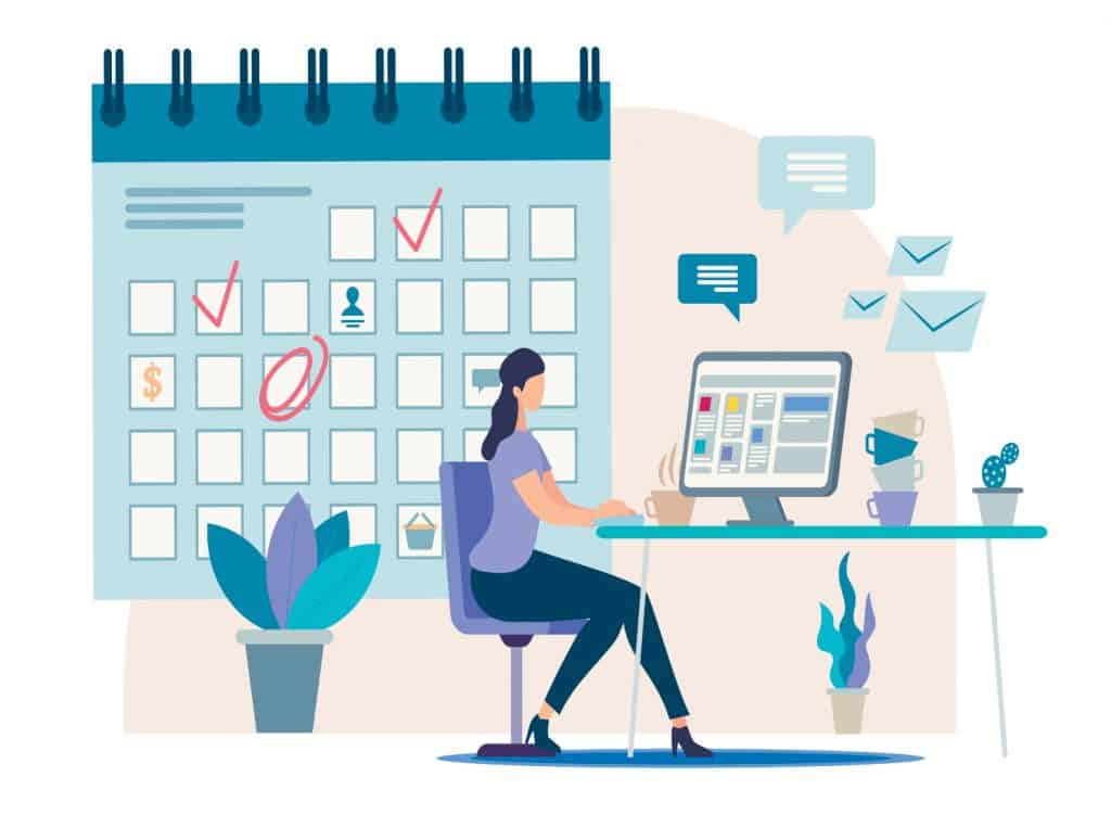 Writing a to-do list helps