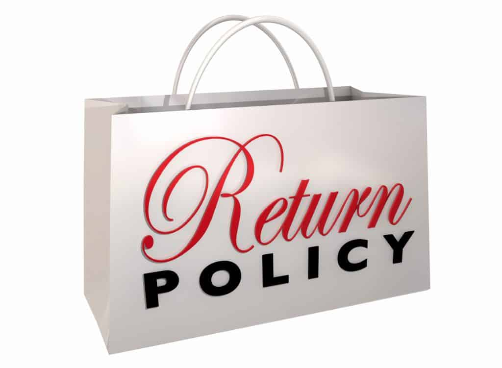 How to handle returns as a small business