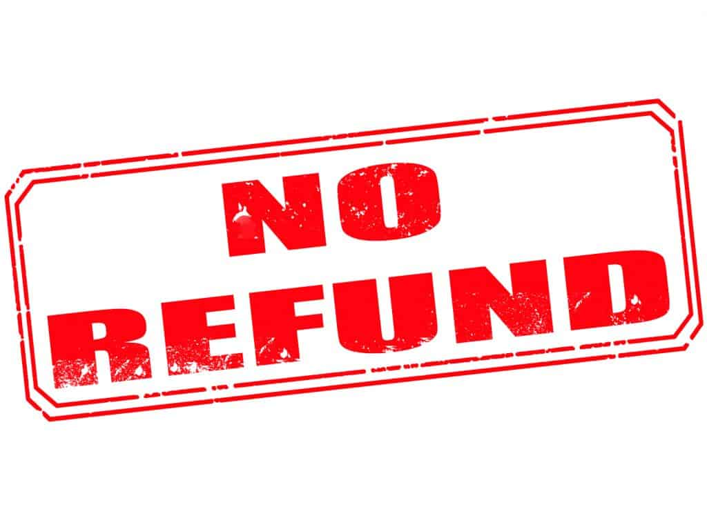 how to decline a refund request