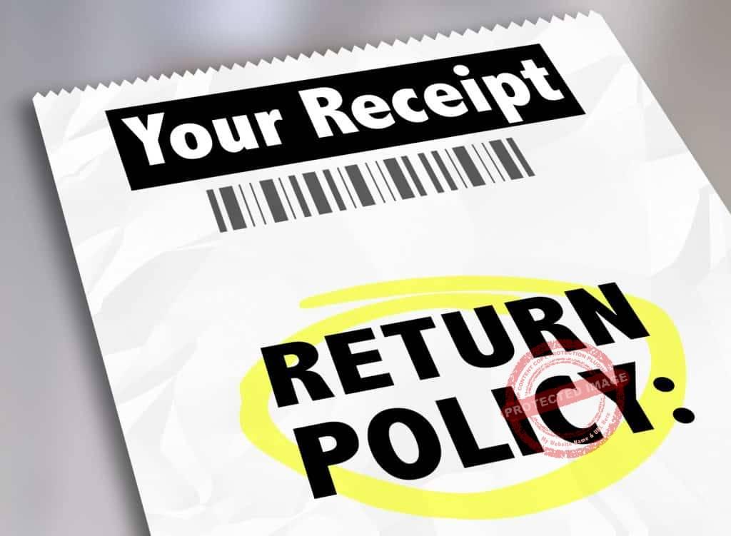 how to handle customer returns