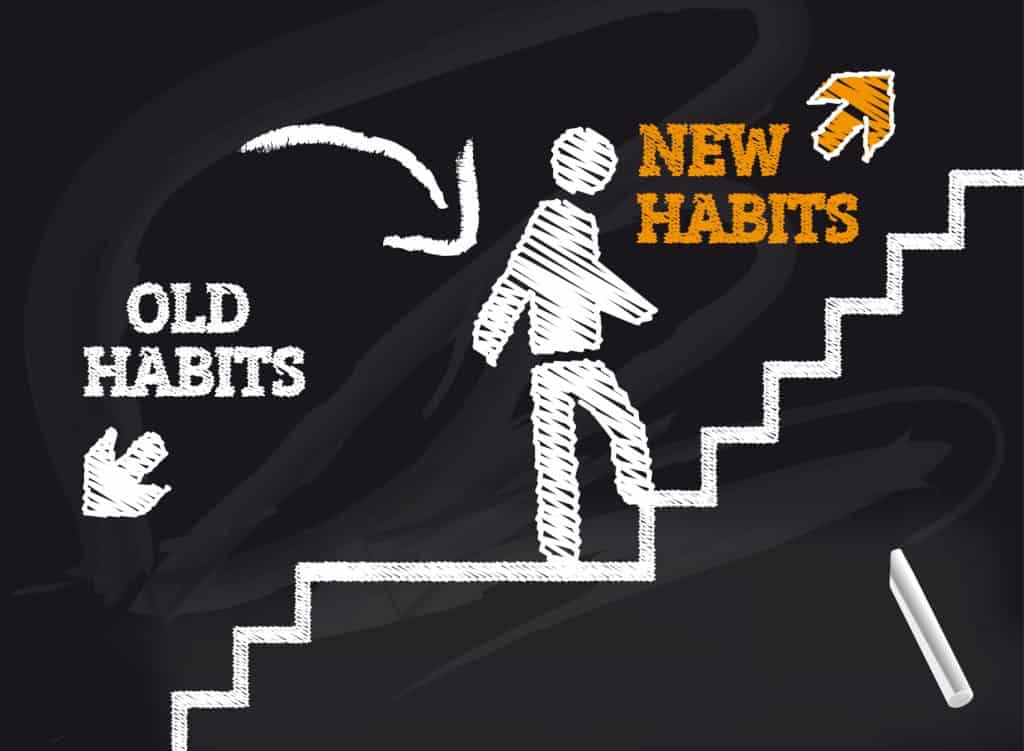 how to build good habits and break bad ones