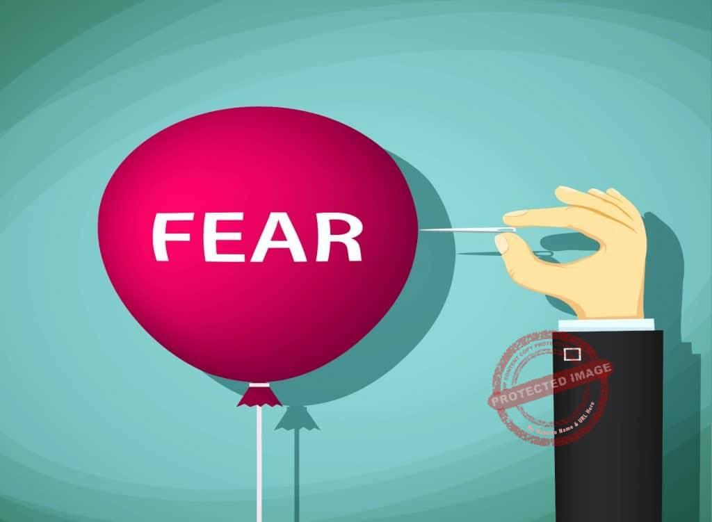 how to push through fear of failure